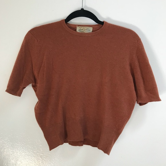ea4dde4f38f1 Lyle & Scott Sweaters | Vintage 50s60s Cropped Sweater | Poshmark